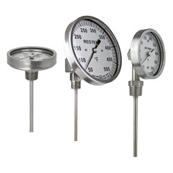 Reotemp Bi-metal Thermometers XR/06/22/01
